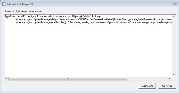 TypeError: Error #1034: Type Coercion failed error at Flex movie start